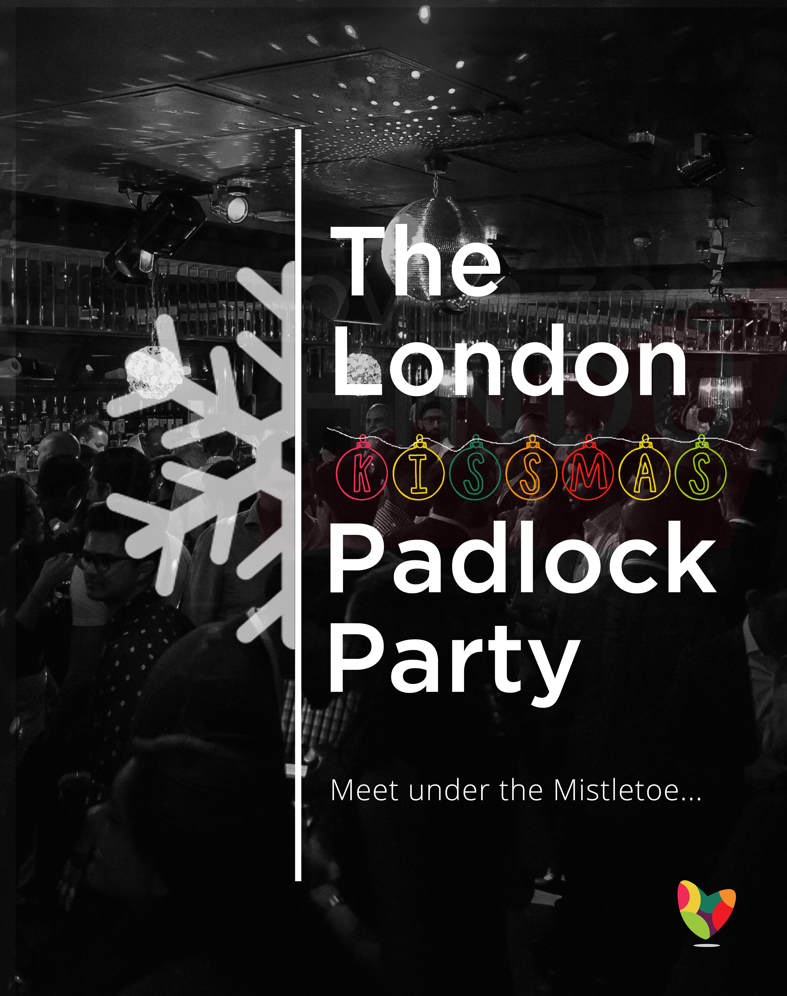 The London Kissmas Padlock Party