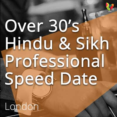 Indian speed dating london